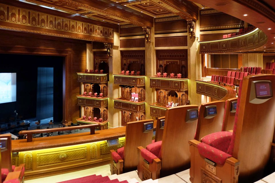 La Royal Opera House Muscat, Le Royal Opera House Muscat, Arte y cultura, Sultanato de Omán