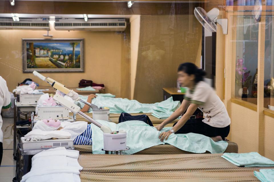 Il massaggio thai , Thailandia