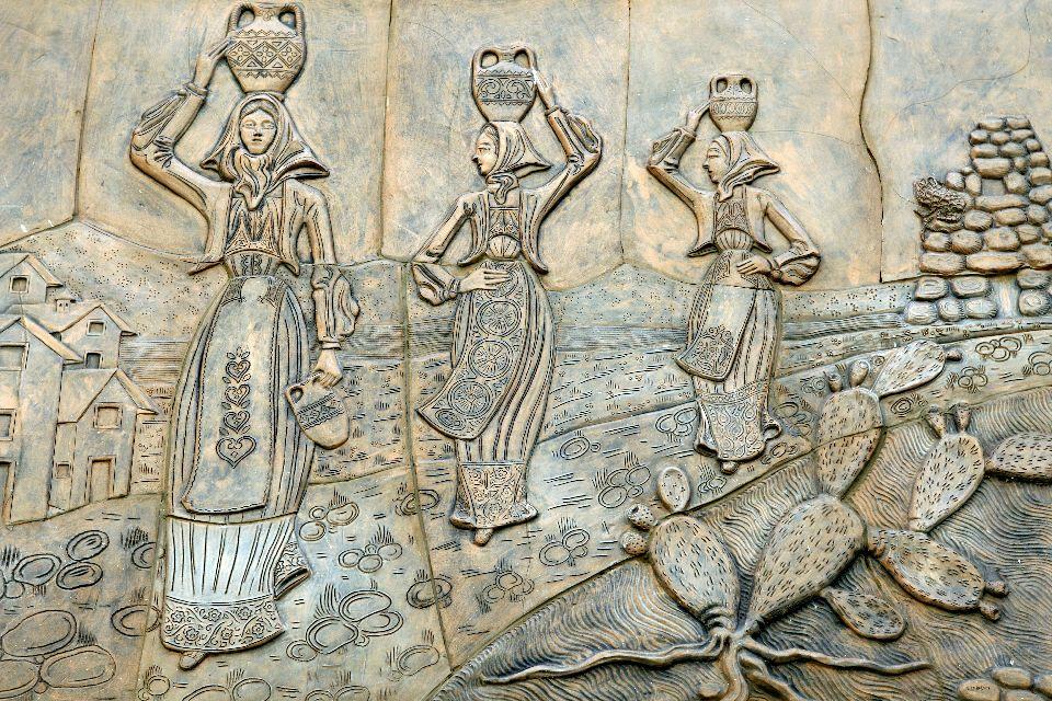 L'artisanat , Artesanía de Dorgali , Italia