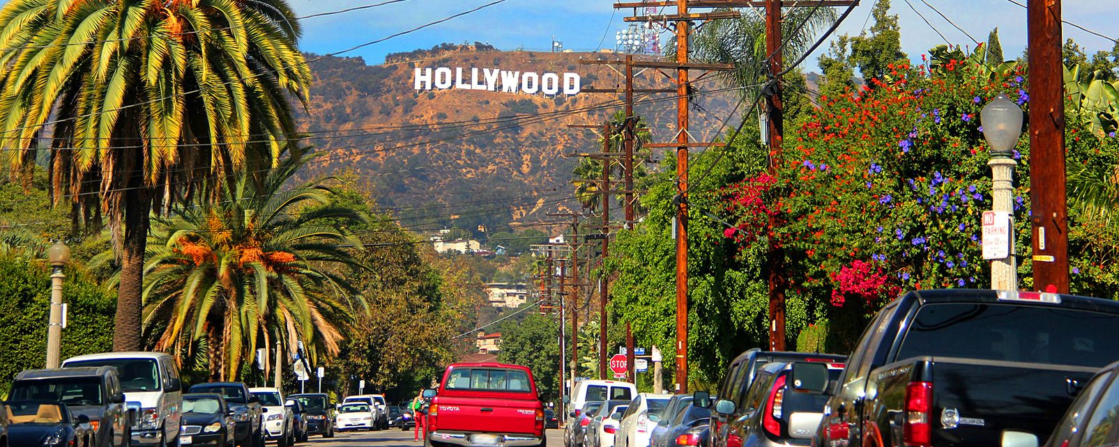 Hollywood , Panneau Hollywood , Etats-Unis