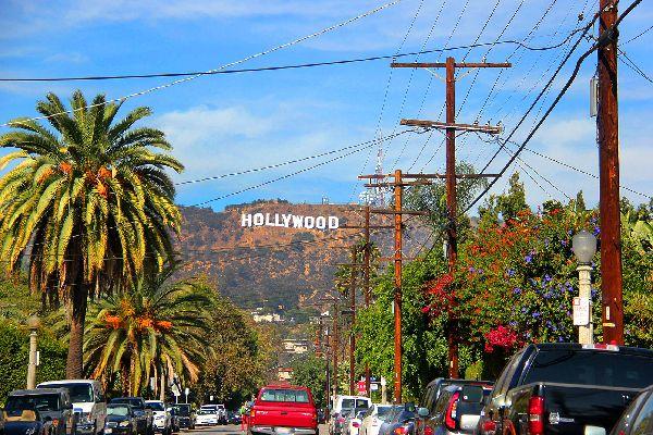 Hollywood , Panneau Hollywood , Etats-Unis