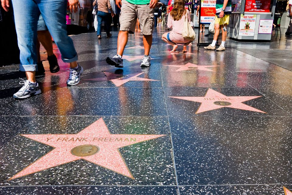 Hollywood , Walk of fame , Etats-Unis