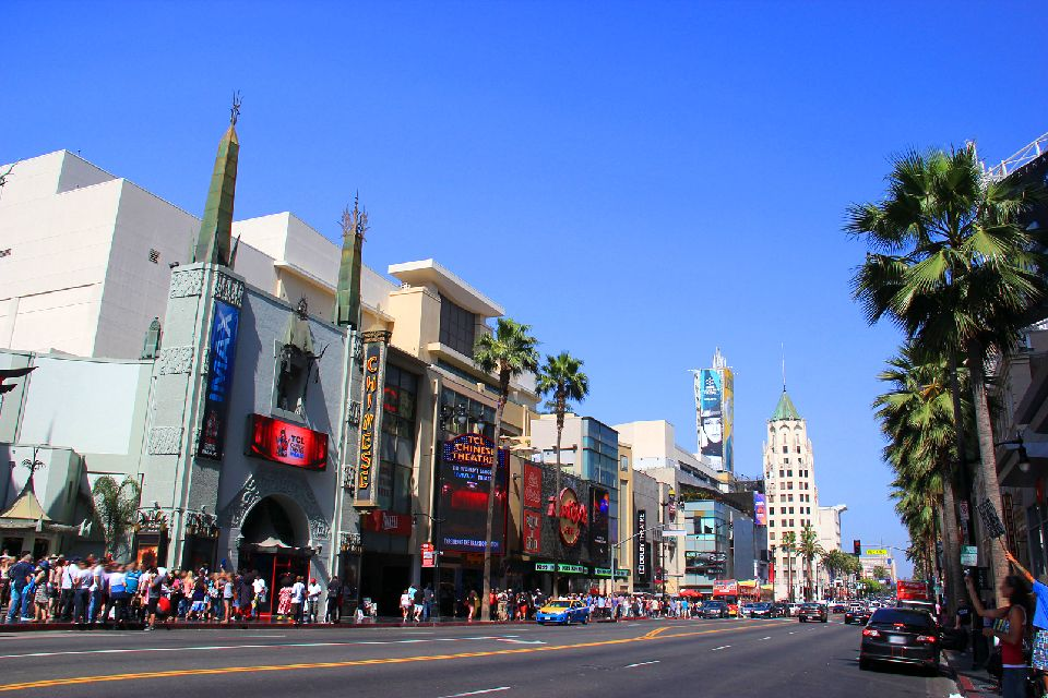 Hollywood , Hollywood Boulevard , Etats-Unis