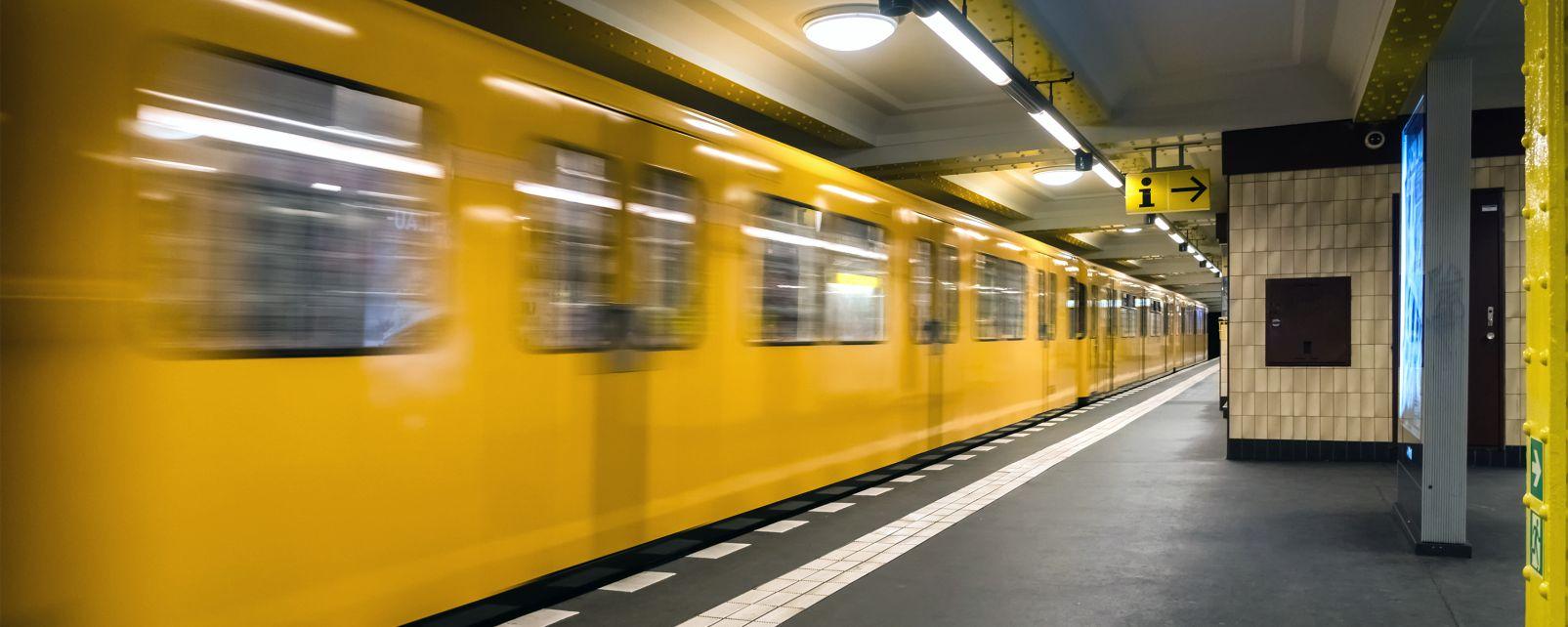 Los subterráneos de Berlín, Ir de marcha, Berlín, Alemania