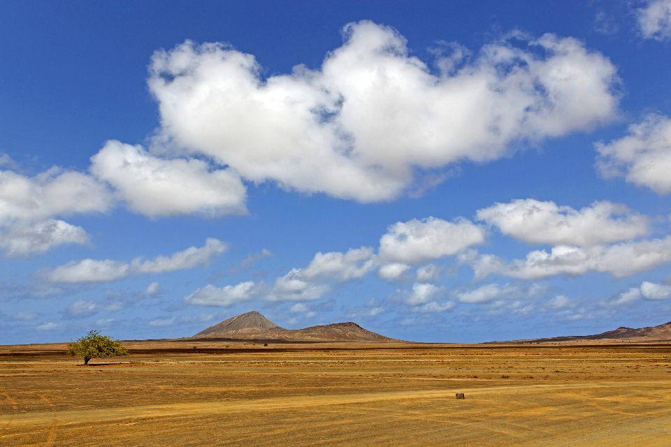 L'Isola di Sal , Isola di Sal, le saline di perda de Lume , Capo Verde