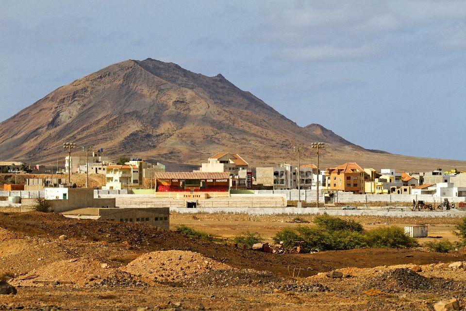L'île de Sal , Espargos , Cap-Vert
