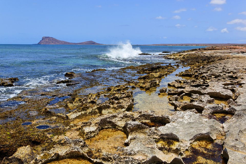 L'île de Sal , La baie de Murdeira , Cap-Vert