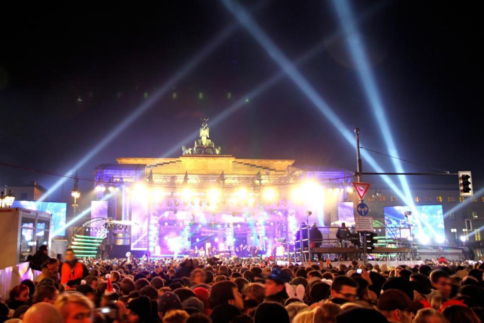 La vita notturna a Berlino, Dove uscire, BERLINO/Concerto alla Porta di Brandeburgo, Berlino, Germania