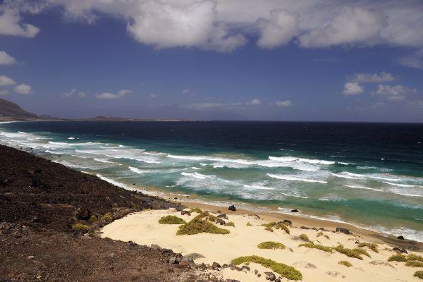 Die Insel Sao Vicente, Die Landschaften, Kapverden