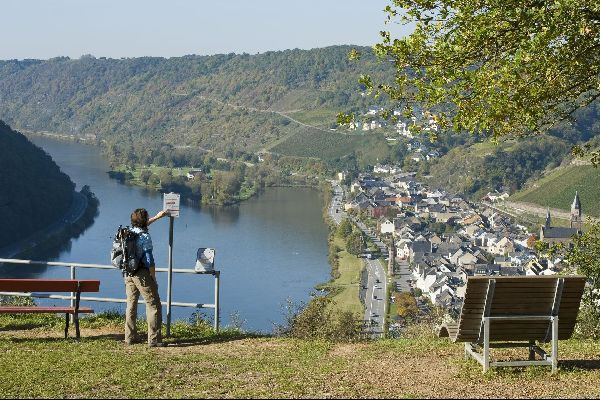 La randonnée en Meuse , France