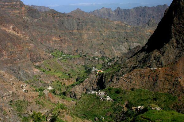 , Die Insel Santo Antao, Die Landschaften, Kapverden