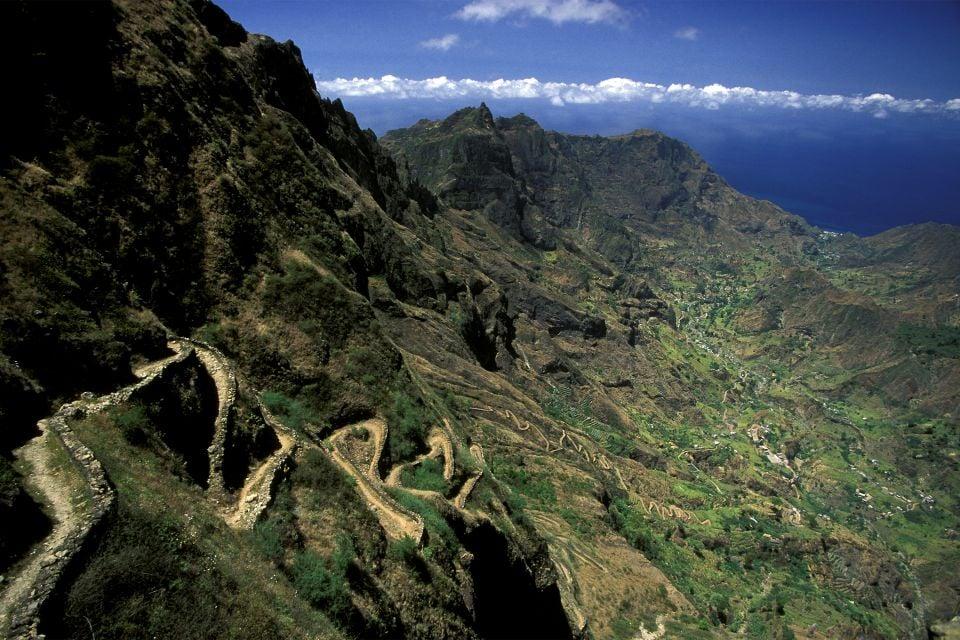 L'isola di Santo Antao, Capo Verde, L'isola di Santo Antao, I paesaggi, Capo Verde