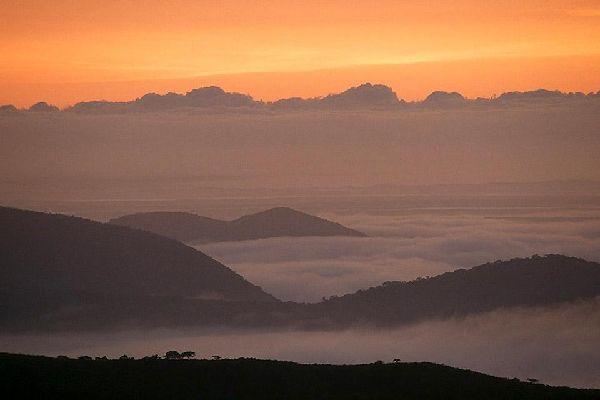 Die Reservate von Hluhluwe und Umfolozi , Aufenthalt in einem südafrikanischen Reservat , Südafrika