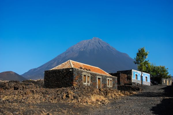 , Die Insel Fogo, Die Landschaften, Kapverden