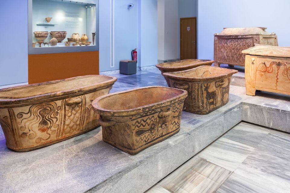 Musée d'Héraklion , Les céramiques du Musée d'Héraklion , Grèce