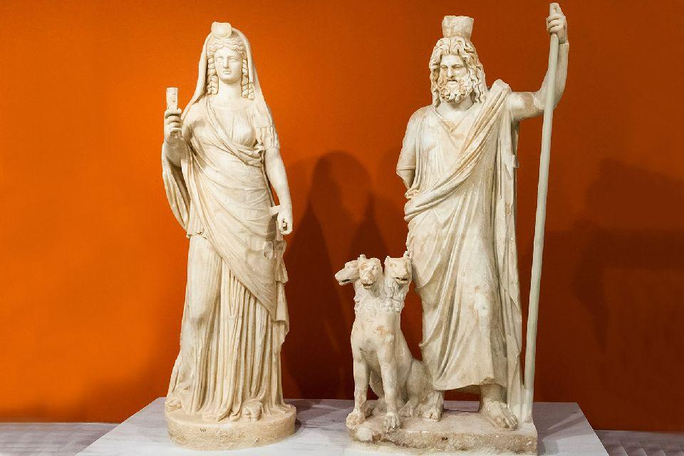 Musée d'Héraklion , Les sculptures gréco-romaines , Grèce