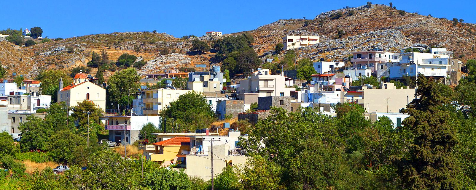 The villages, Landscapes, Crete