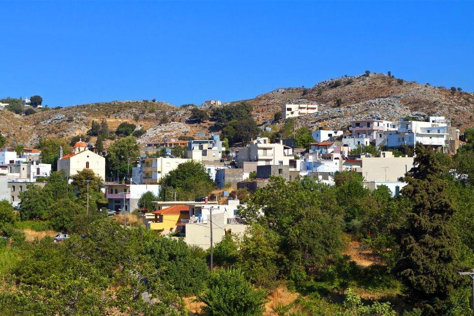 Les villages, Les paysages, Crète