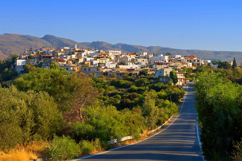 Le village d'Axos, Les villages, Les paysages, Crète