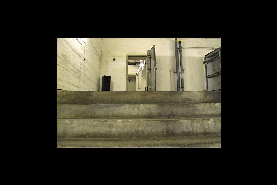 Les souterrains de Berlin , Eingang zum unterirdischen Labyrinth von Berl , Deutschland