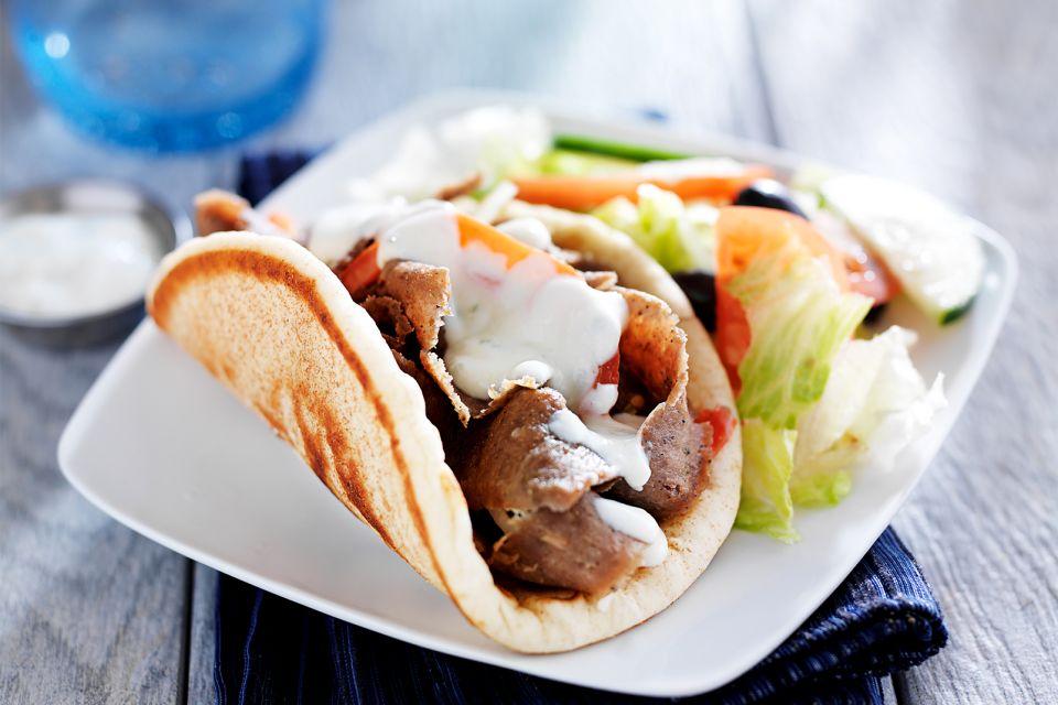 Le pain pita, Régime crétois, La gastronomie, Crète