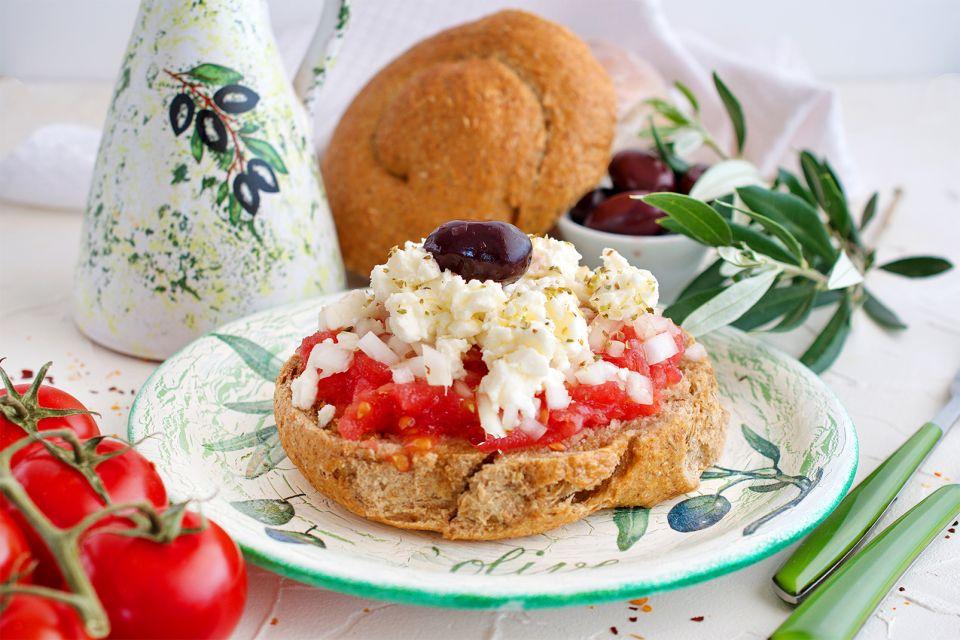 Les mezes, Régime crétois, La gastronomie, Crète