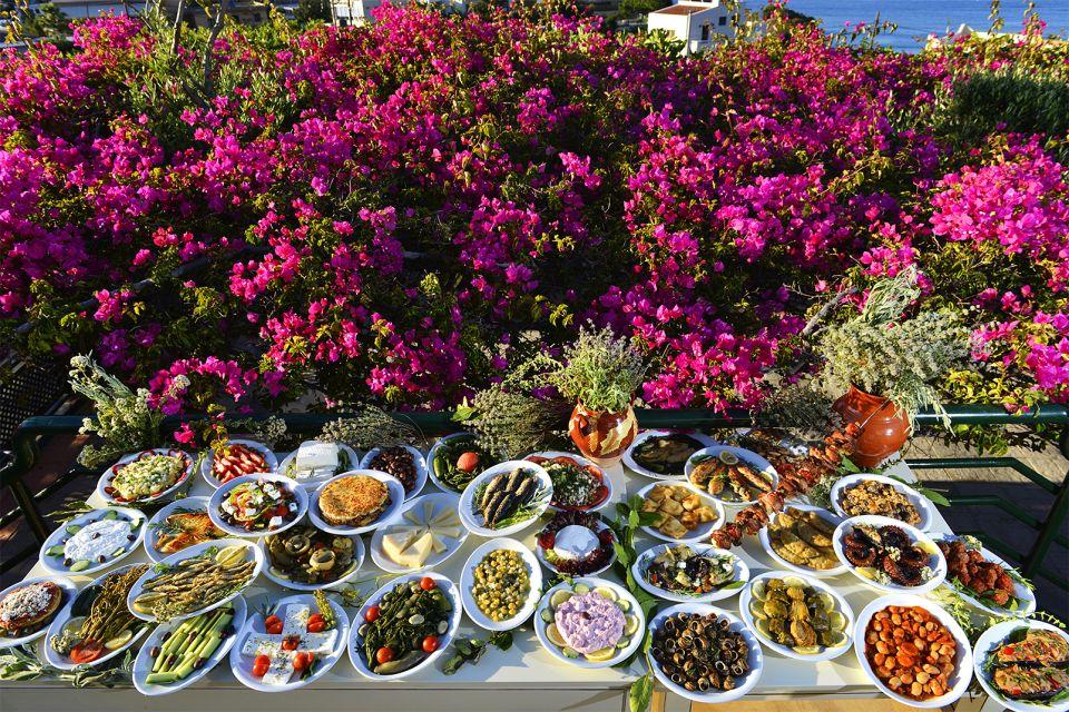 Cuisine crétoise, La gastronomie, Crète