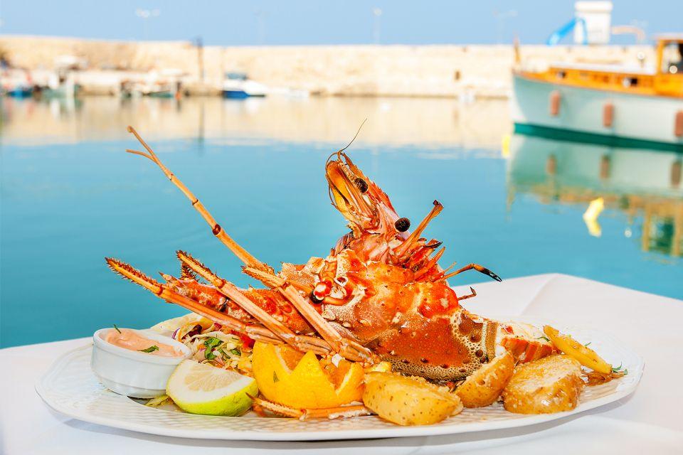 Les poissons, Cuisine crétoise, La gastronomie, Crète