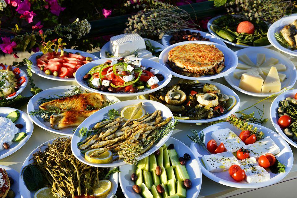 Les fromages, Cuisine crétoise, La gastronomie, Crète