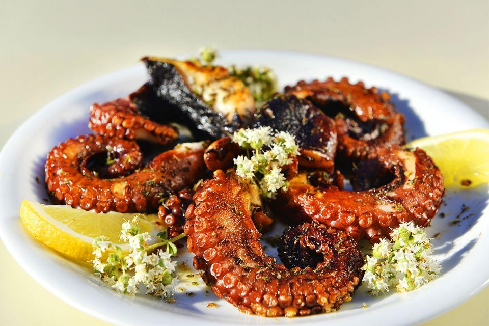 Tous les produits de la mer, Cuisine crétoise, La gastronomie, Crète