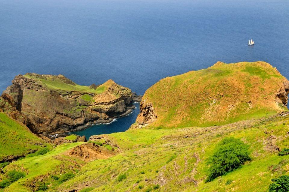 , Die Inseln Brava und Maio, Die Landschaften, Kapverden