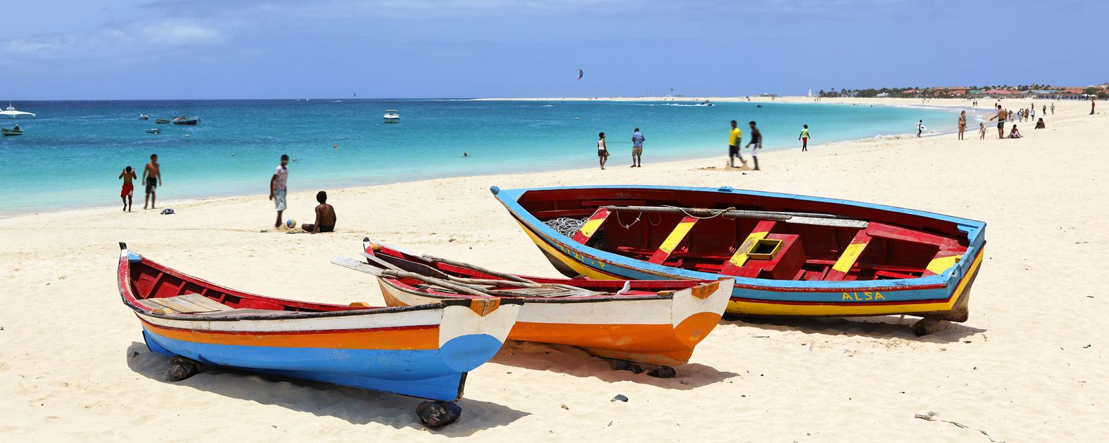 The beaches on Sal , The beaches of Sal , Cape Verde