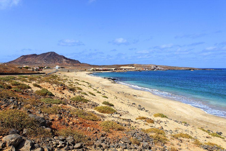 Die Strände von Sal , Strand von Pedra Lume , Kap Verde