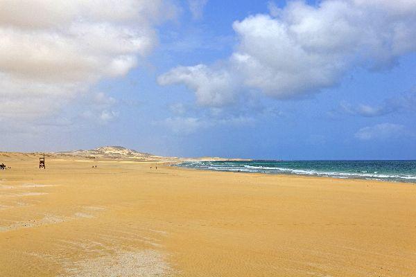 Die Insel Boavista , Praia de Chaves , Kap Verde