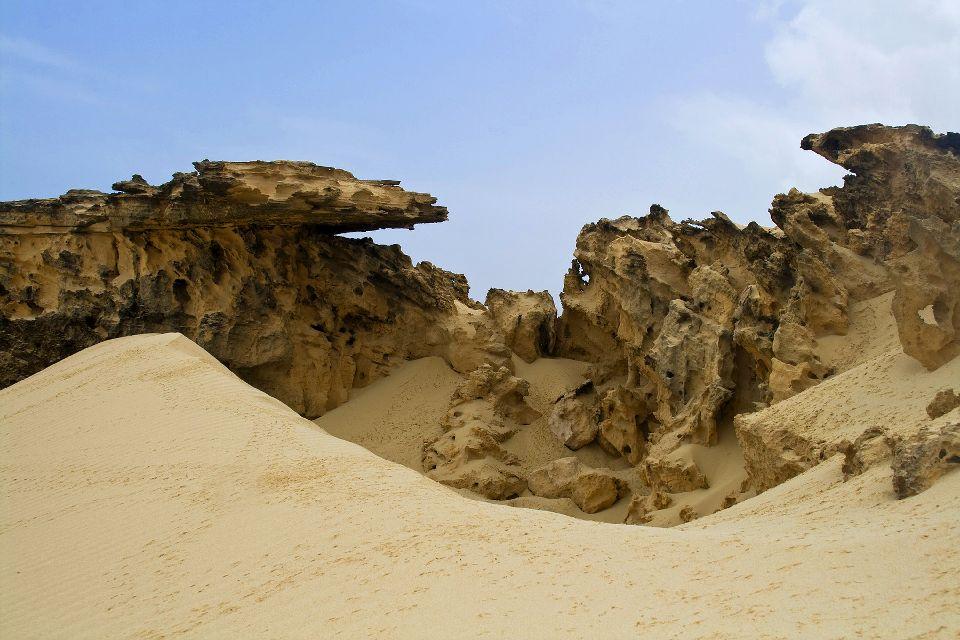 Boavista Island , The Chaves dunes , Cape Verde