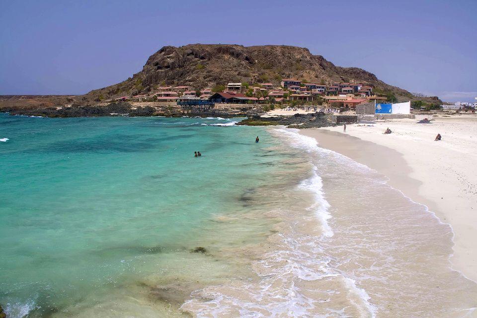 Boavista Island , Hotels on Praia de Chaves beach , Cape Verde
