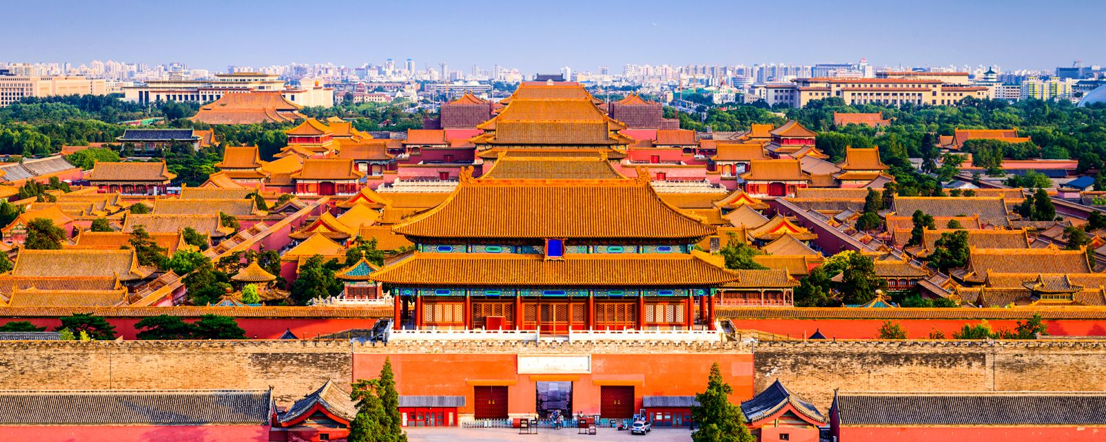 The Forbidden City in Beijing , The Forbidden City of Peking , China