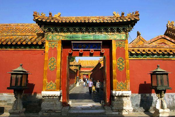 The Forbidden City in Beijing , The inhabitants of the Forbidden City , China