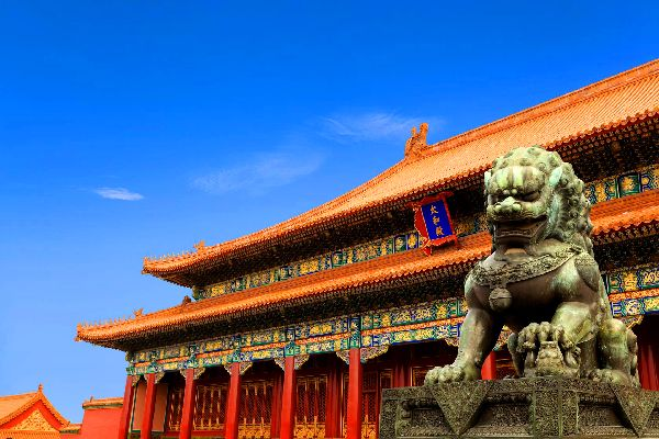 The Forbidden City in Beijing , A prison-like city , China