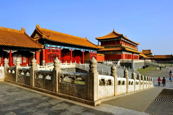 The Forbidden City in Beijing , The Forbidden City Palace , China