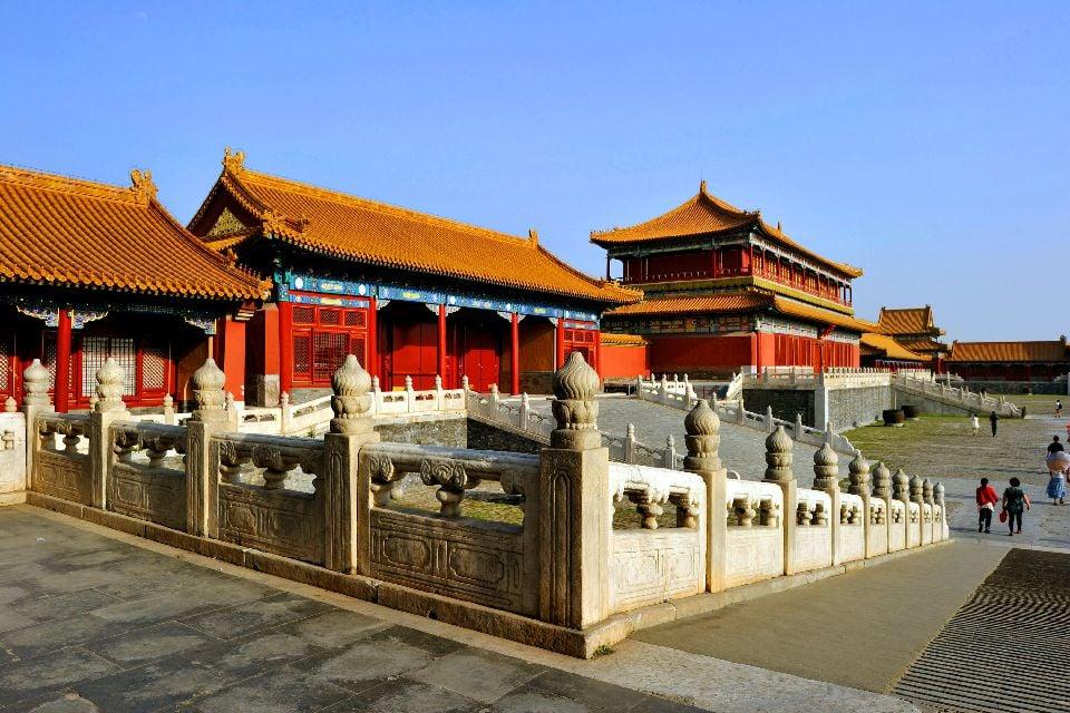 La Cité Interdite à Pékin , Les palais de la cité interdite , Chine