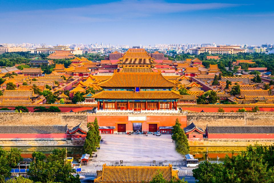 La Cité Interdite à Pékin , La Cité interdite de Pékin , Chine