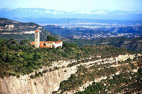 Le monastère du mont San Benet , Spain