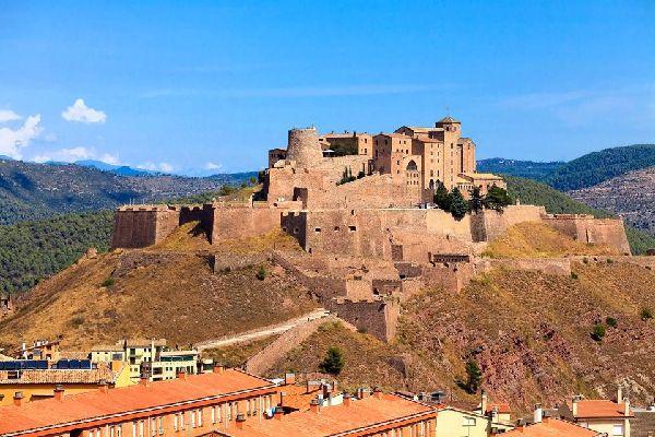 Château Sant Vicenç de Cardona , España