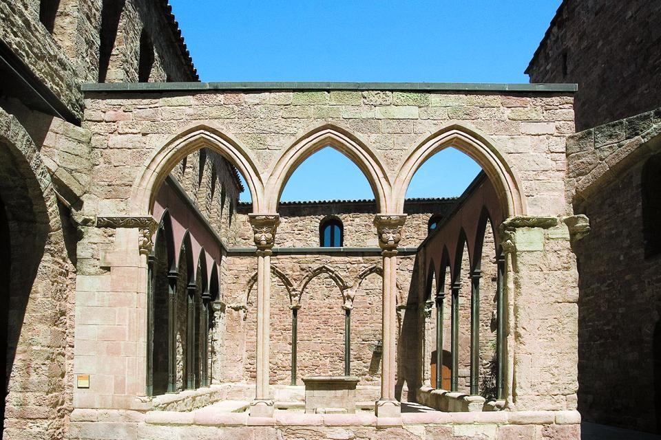 Château Sant Vicenç de Cardona , Espagne