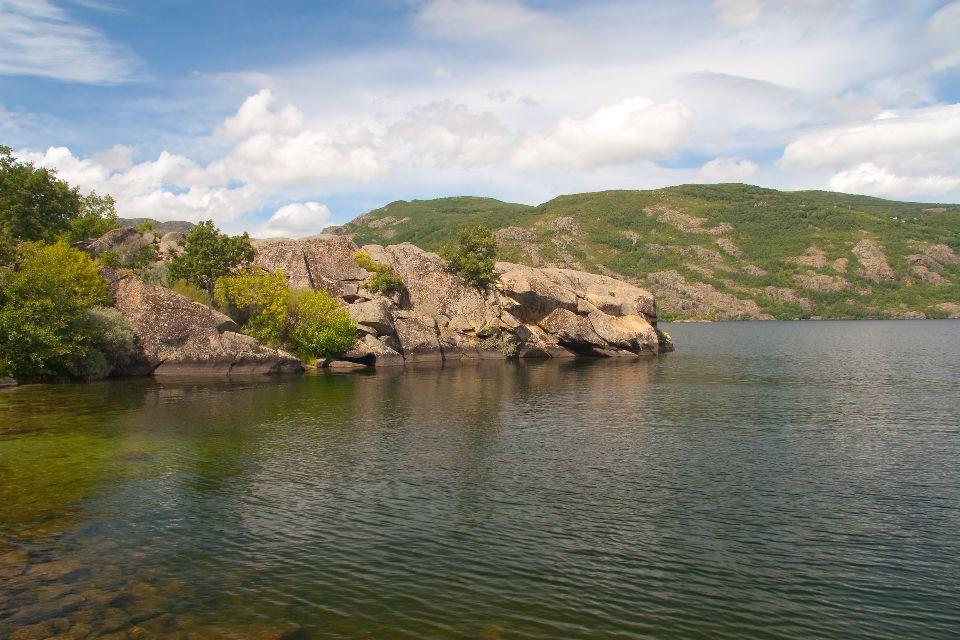 Le lac de Sanabria , Espagne