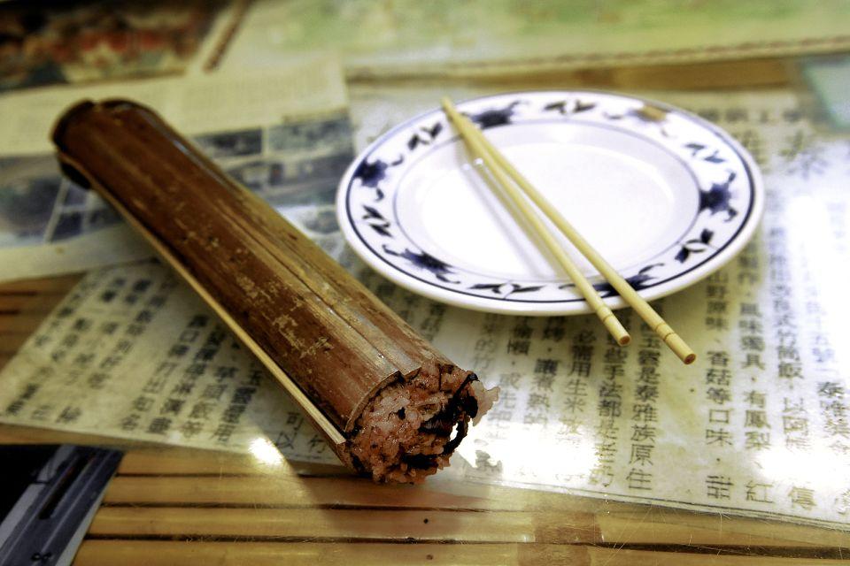 Hojas de bambú rellenas de arroz, Les sources thermales de Beitou, Los paisajes, Taiwan
