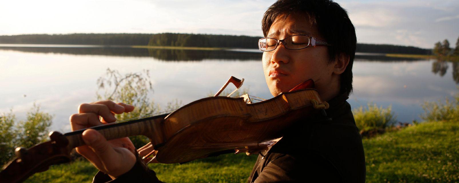 Le festival de Kuhmo , Un musicien au festival de Kuhmo , Finlande