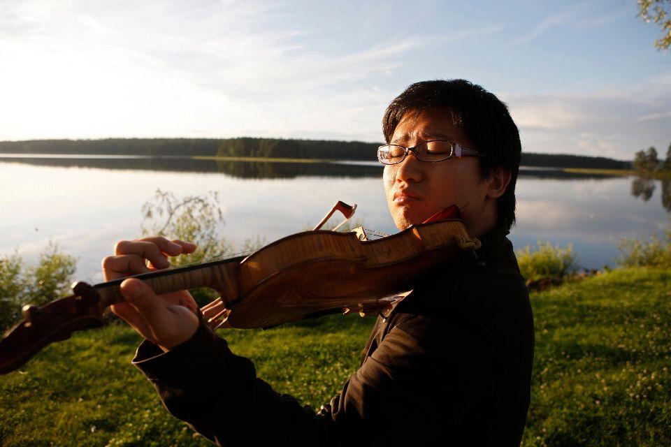 Il festival di Khumo , Un musicista al festival di Kuhmo , Finlandia