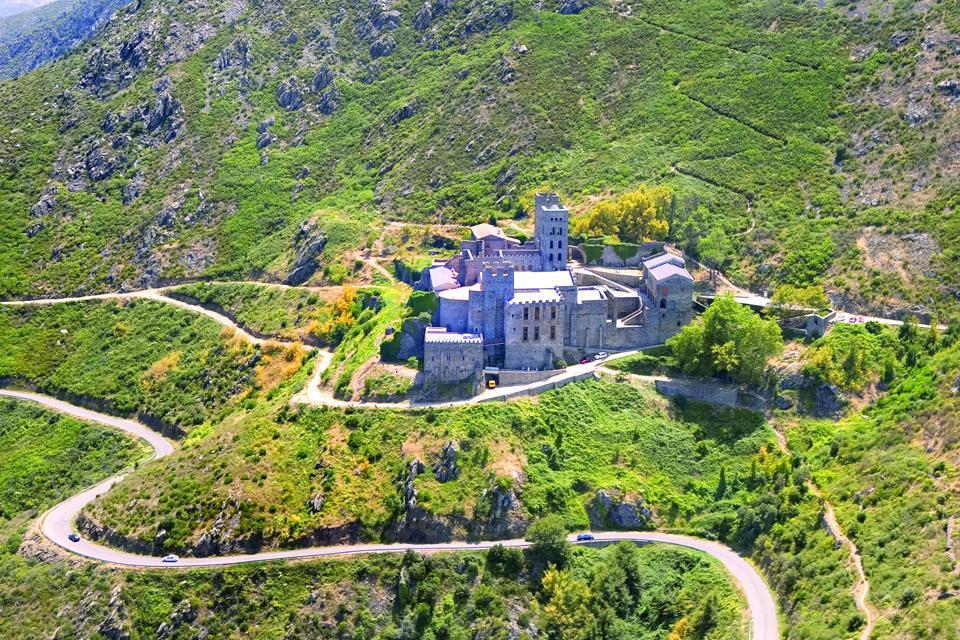 Monastère de Sant Pere de Rodes , España